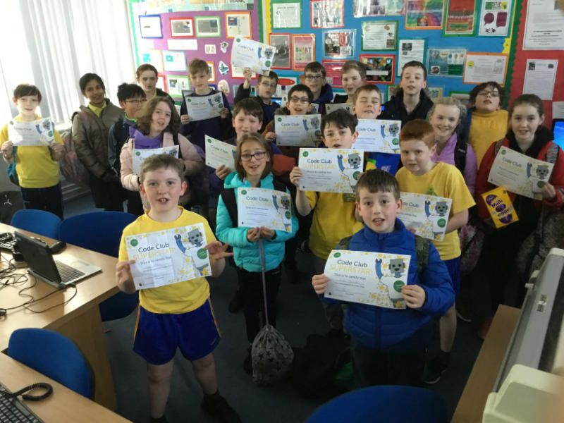 Congratulations to our Code Club children who really enjoyed learning to program in Scratch with Mr Starrs.  Everyone received a certificate in recognition of their work.