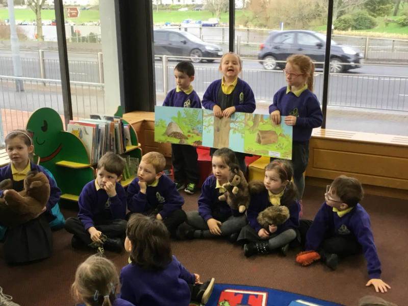 P1 enjoy  the book launch of 'The Dragon from the Lagan goes to W5'