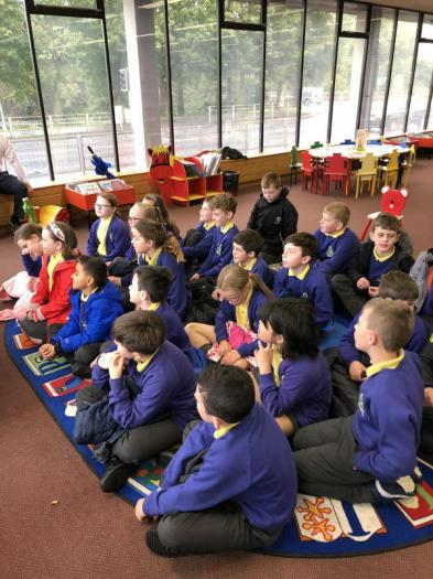P4 and P6 Classes visit the Enniskillen Library this week