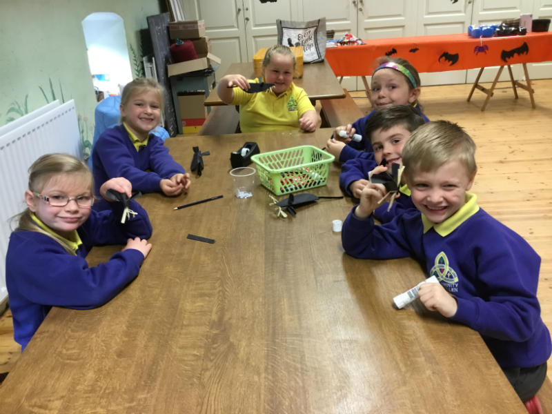 P3 Florencecourt trip: Arts and crafts