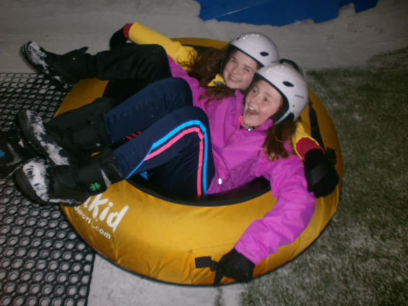 P7s enjoying the rides at the Chill Factore