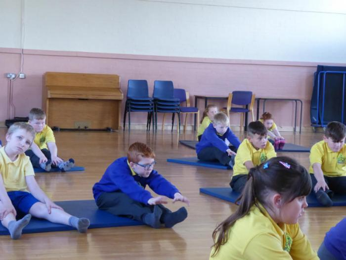 P7 learn some Yoga