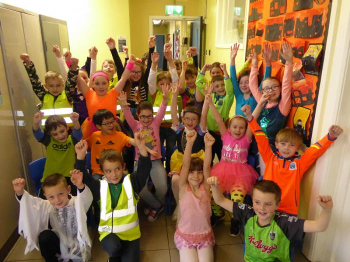 KS1: Pupils wore some wonderful bright clothes for our Ditch the Dark day