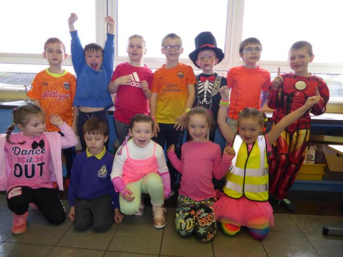 KS1: Dressed bright for Ditch the Dark