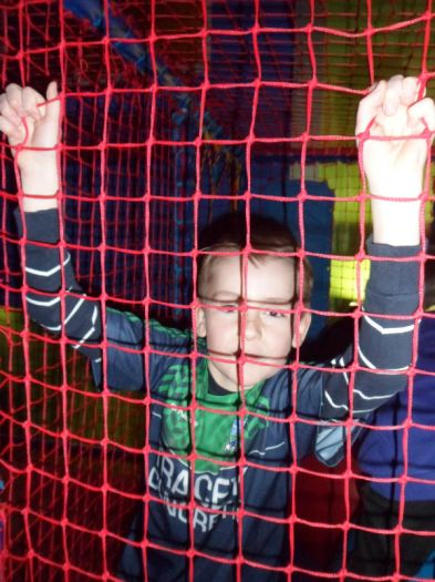 Johnny Rocko's: children enjoy the soft play area
