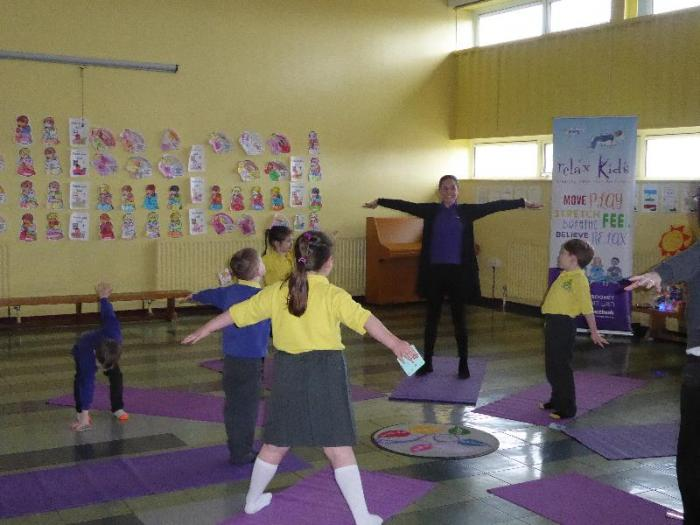 P2 Children enjoying Relax Kids sessions