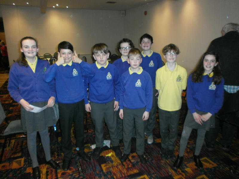 Well done to the 2 teams from Holy Trinity who took part in the Credit Union Quiz regional finals