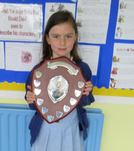 Congratulations to Christine, from Mrs Green's class, who has become an AR Millionaire.