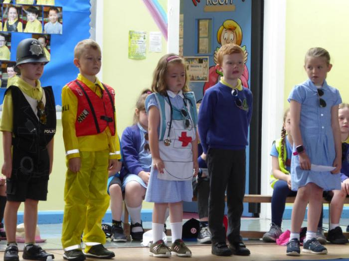 Mrs Morris P3 Assembly: People who will help us stay safe