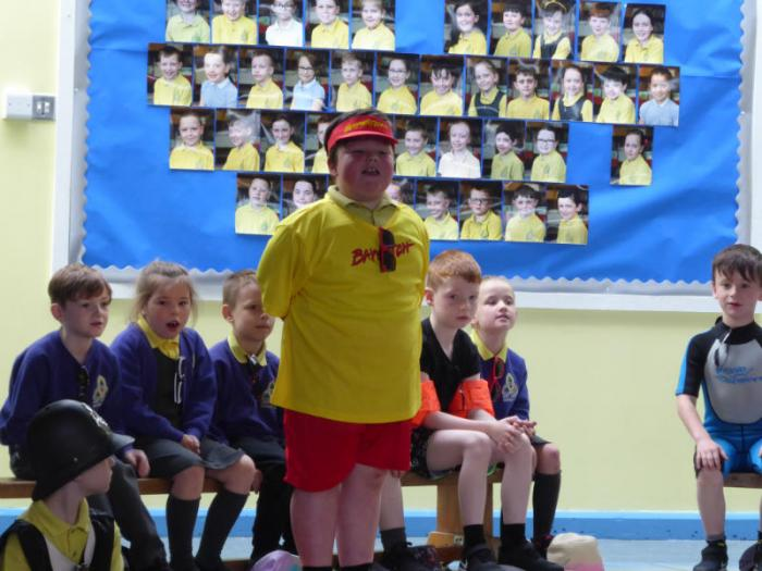 Mrs Morris P3 assembly - Safety rules