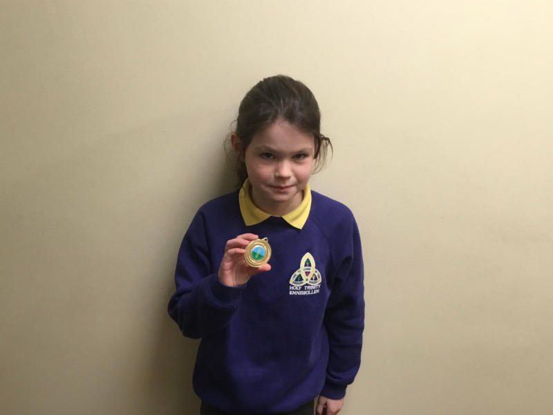 Lisnaskea Feis: Congratulations to Maille who was 1st in the Poetry section.