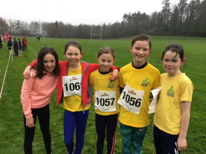 Flahavans Cross Country: Some of the Girls team