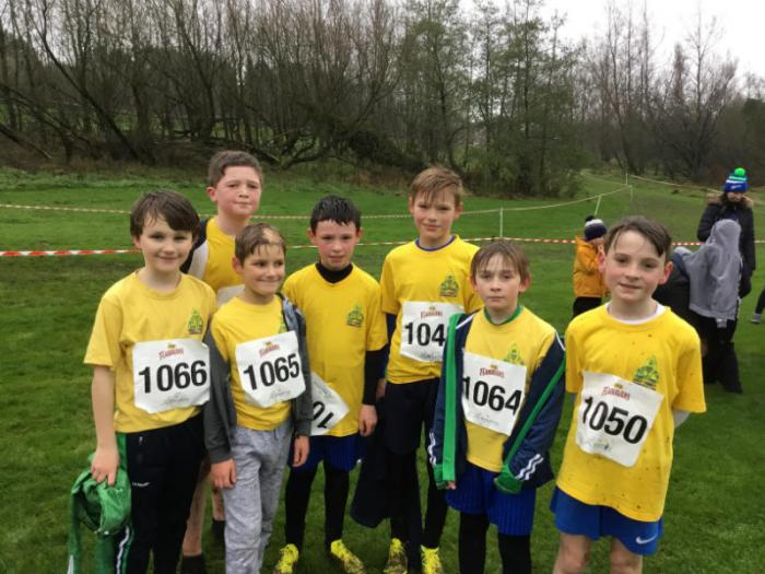 Flahavans Cross Country: Some of the boys team.
