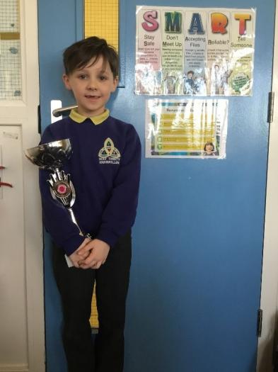 Congratulations to Lucas who won at the Sligo Feis on February 9th.