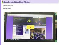 Video on how to use Accelerated Reading/Maths